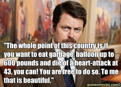 Swanson quotes to live by