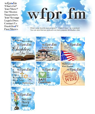 Podcasts are up - at wfpr.fm