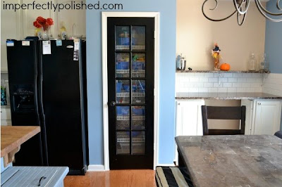 How to Spray Paint a Glass Paned Door