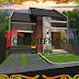 Jasa Arsitek Desain Gambar Rumah di Tegal Minimalis Modern Minimalist House Home Fasade