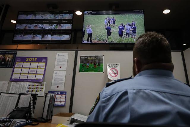 شركة أمن وحماية بحاجة لموظفي أمن وحماية سيطرة على الكاميرات