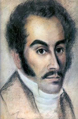 Pintura de Simón Bolívar 1815