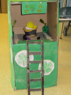 St. Patrick's Day - First Grade Roars!