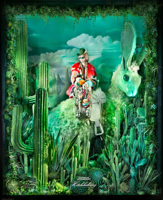 Green Pear Diaries, escaparates, navidad 2016, Bergdorf Goodman, Destination Extraordinary