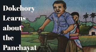 Lesson 4 | Dokchory Learns about the Panchayat questions answers | Class 8