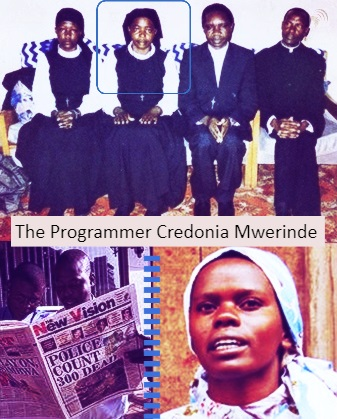 The Programmer Credonia Mwerinde the Worst Female Serial Killer In Recorded History is a African Woman