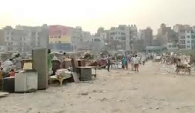 Okhla धोबी घाट पर पुलिस ने तोड़ी झुग्गियां 1500 लोग बे घर | Sohbat News |