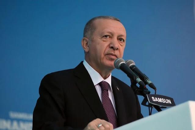 Ο Ερντογάν προαναγγέλλει προσάρτηση εδαφών! Που;