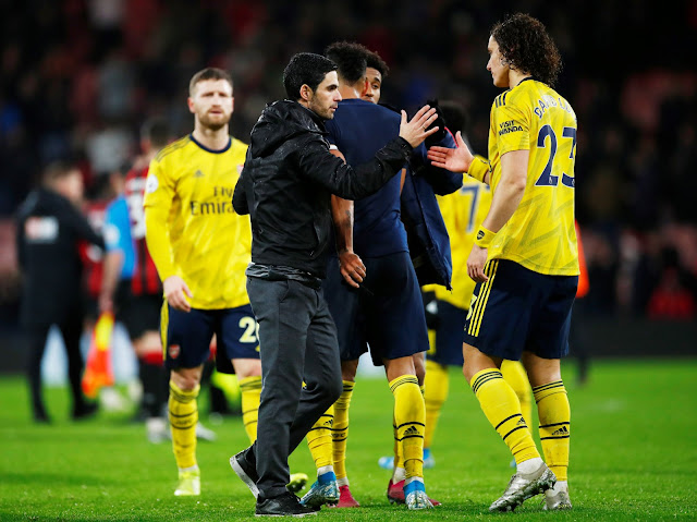 David Luiz, Arteta Arsenal
