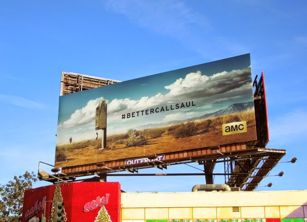 Better Call Saul series teaser billboard