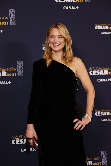 Virginie Efira at 2021 Cesar Film Awards in Paris