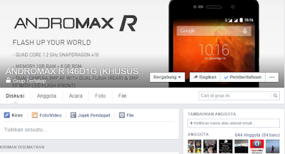 ANDROMAX R I46D1G (KHUSUS OPREKER)