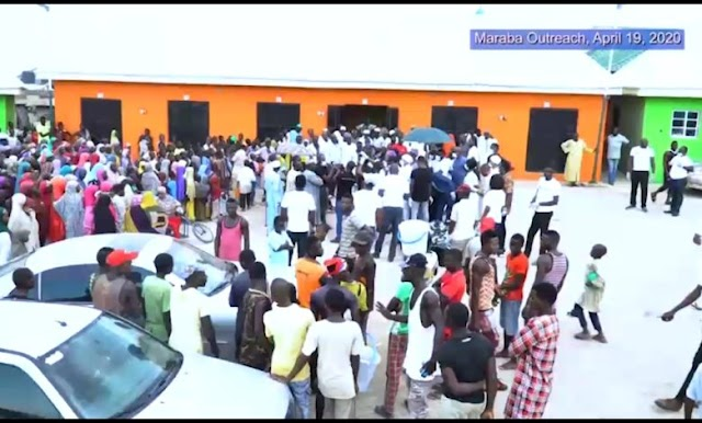 Prophet Omale Distributing Food stuffs, Relief Materials To Abuja Residents