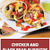 Chicken and Black Bean Burritos (Lean & Gluten Free)