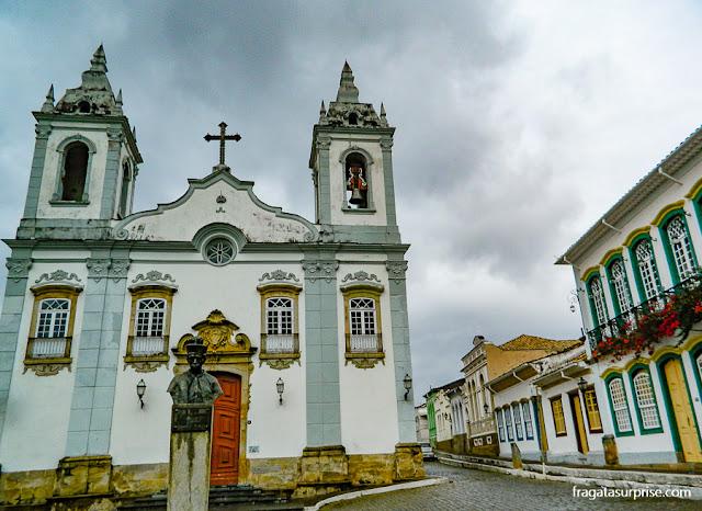 Igreja do Rosário de São João del Rei, Minas Gerais