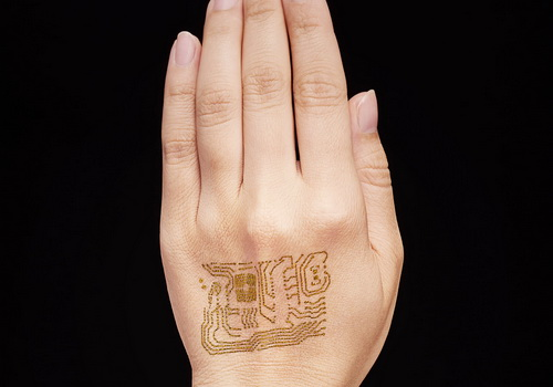 Tinuku.com Skin sensors temporary tattoos monitor for a week