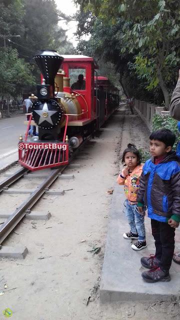 Lko Zoo Toy train
