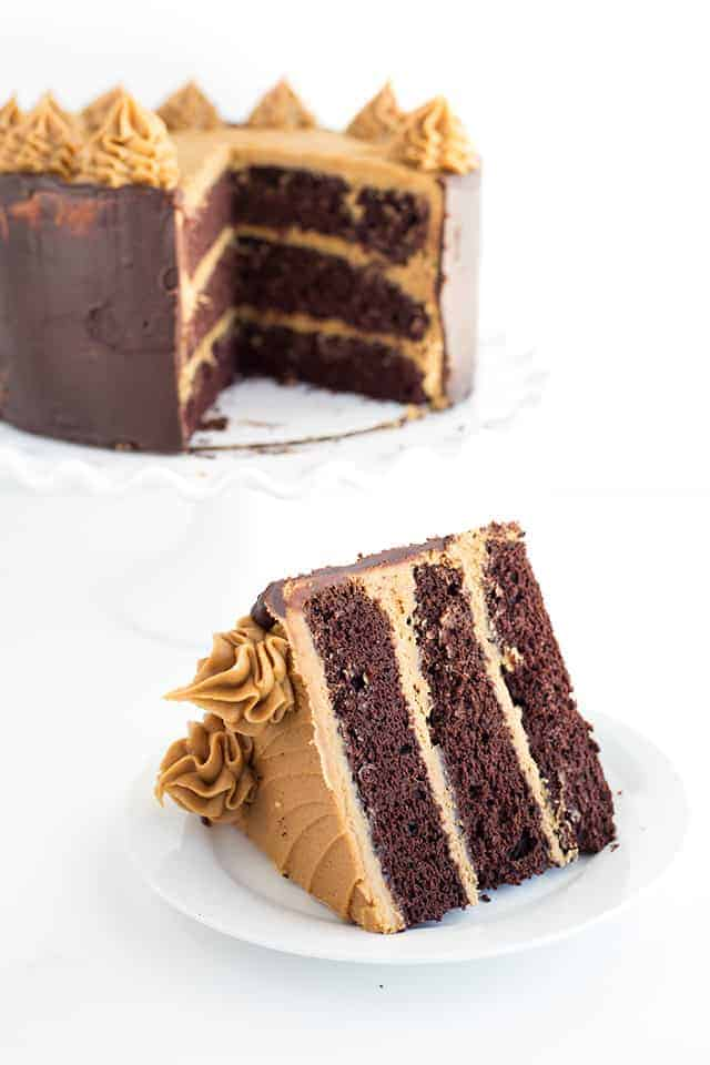 Mocha Layer Cake with Coffee Frosting