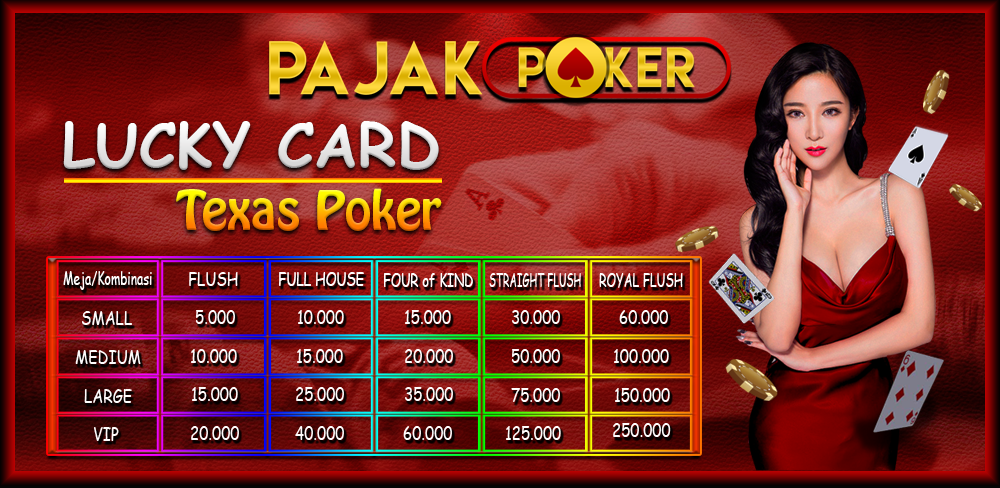 Bonus Lucky Card Texas Poker Online Indonesia