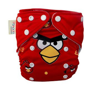 CLOTH DIAPERS Pokado - Angry Birds Rp. 62.000