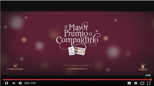 Emotivo anuncio Lotería Navidad 2016