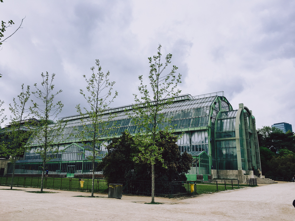 Les Grandes Serres, Jardin des PLantes Paris