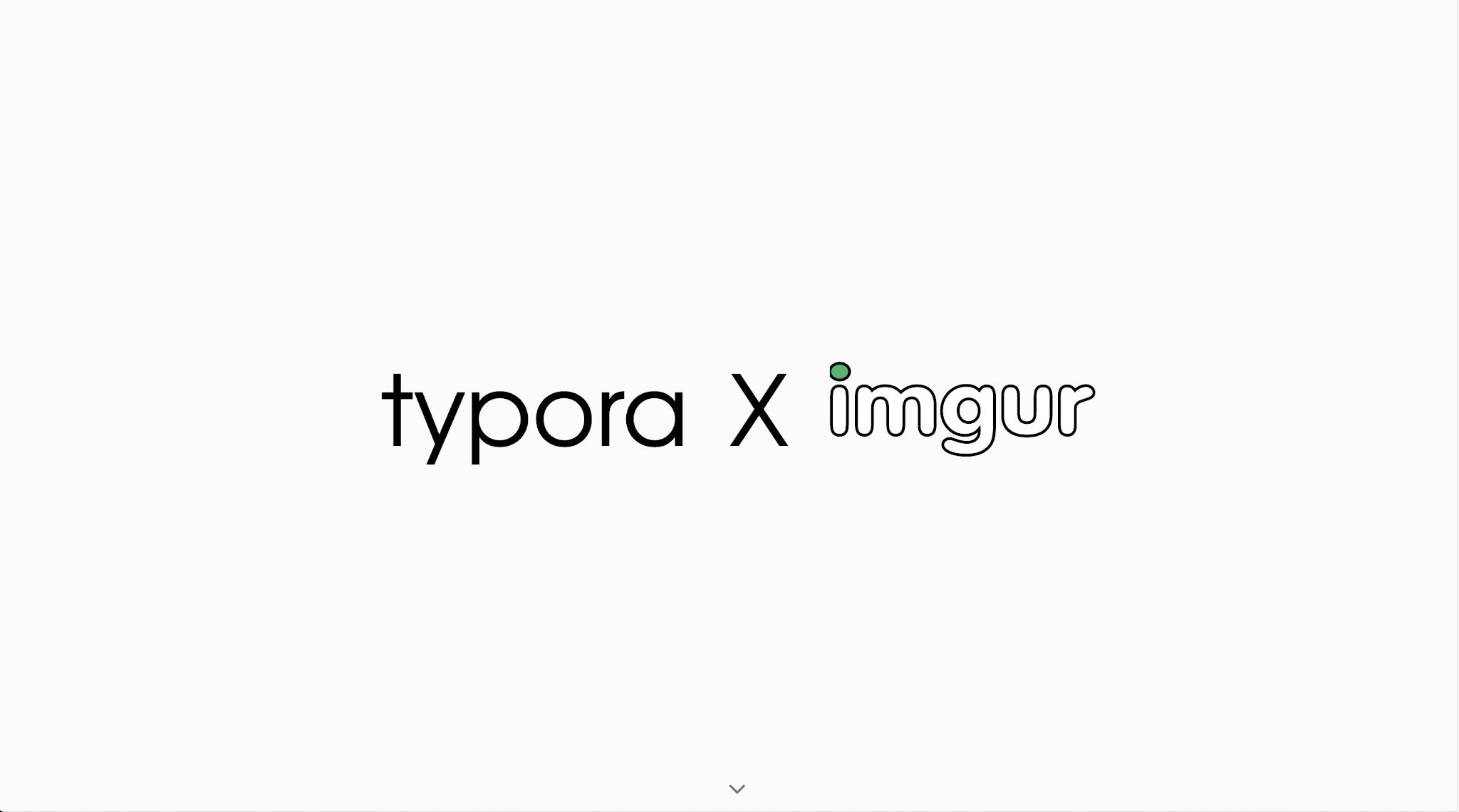 Typora with Imgur