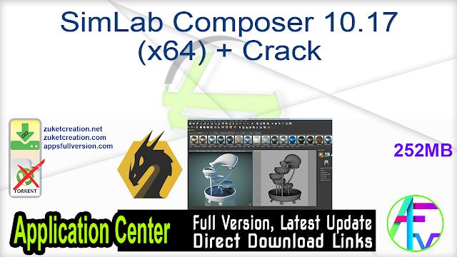 SimLab Composer 10.17 (x64) + Crack