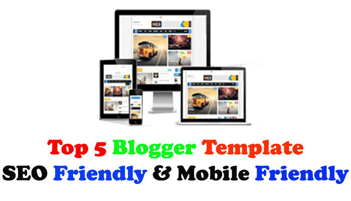 Top 5 Premium blogger templates for free Download [2020]