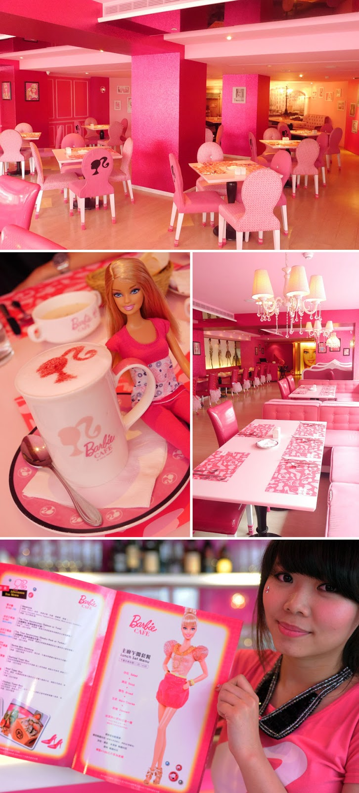 35 Of The World's Most Amazing Restaurants To Eat In Before You Die - Barbie Cafe In Taipei, Taiwan