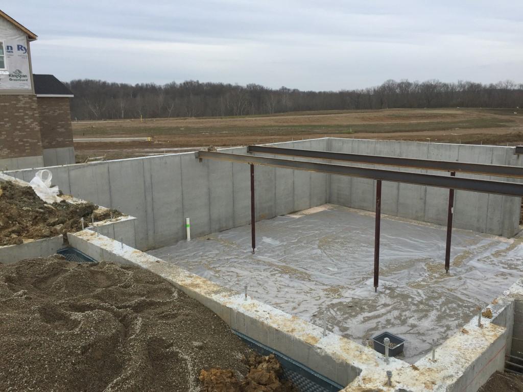 Building Our Bateman Basement Floor And Beams