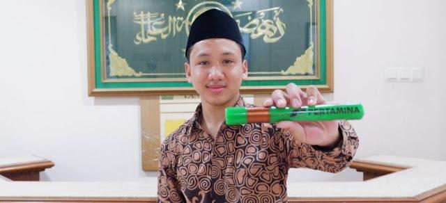 Ravi Ramadhani, Kader IPNU Wonosobo yang Berhasil Raih Emas Lomba Sains di Abu Dhabi