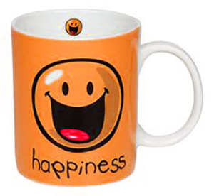 Hapiness Smiley Mug