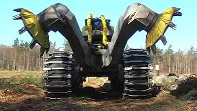 Acidentes com máquinas pesada