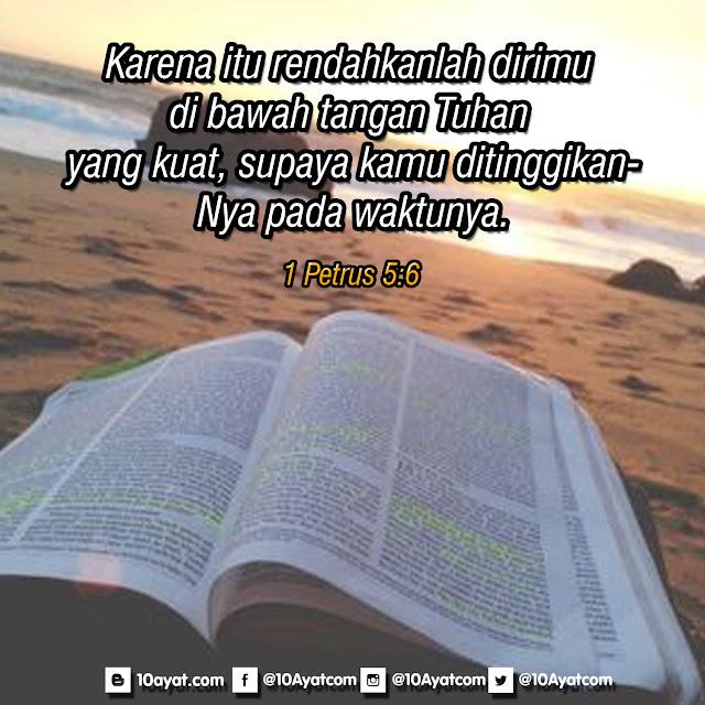 1 Petrus 5:6