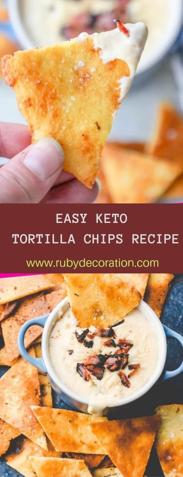 EASY KETO TORTILLA CHIPS RECIPE