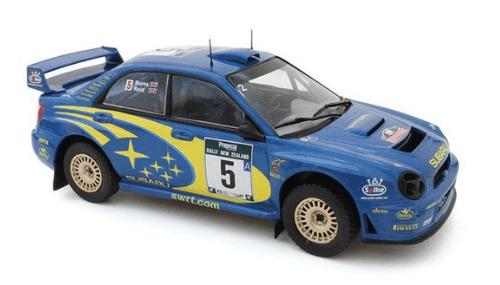 WRC collection 1:24 salvat españa, Subaru Impreza S7 WRC 1:24