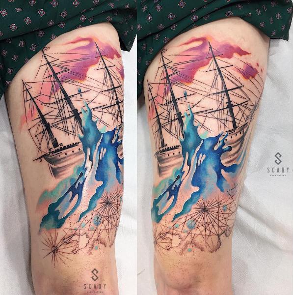 A Versatilidade Do Efeito Aquarelado Nas Tatuagens
