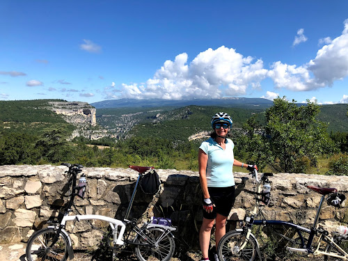 French Village Diaries cycling les Gorges de la Nesque Provence Mont Ventoux