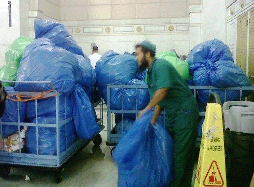 sampah di masjidil haram