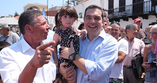 Ο Τσίπρας στη Χάλκη υποσχέθηκε κατάργηση του ΕΝΦΙΑ στα νησιά κάτω των 1000 κατοίκων