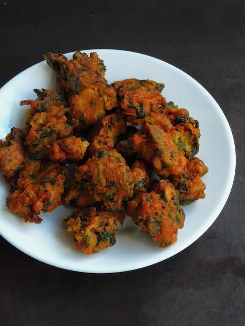 Gluten free SIndhi Onion Pakoras