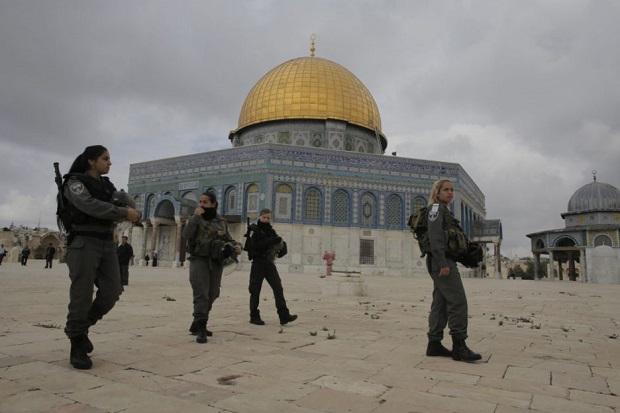 Israel Pasang Detektor Logam di Kompleks Masjid al-Aqsa, Situasi Memanas