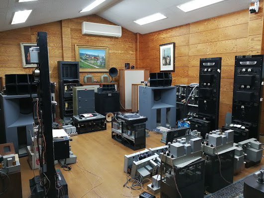 Visit Western Labo Vintage Audio Shop in Japan