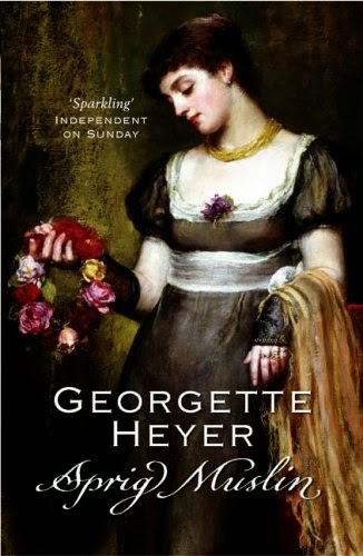 Book Cover: Sprig Muslin by Georgette Heyer