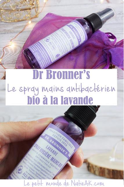 avis spray anti bactérien bio à la lavande