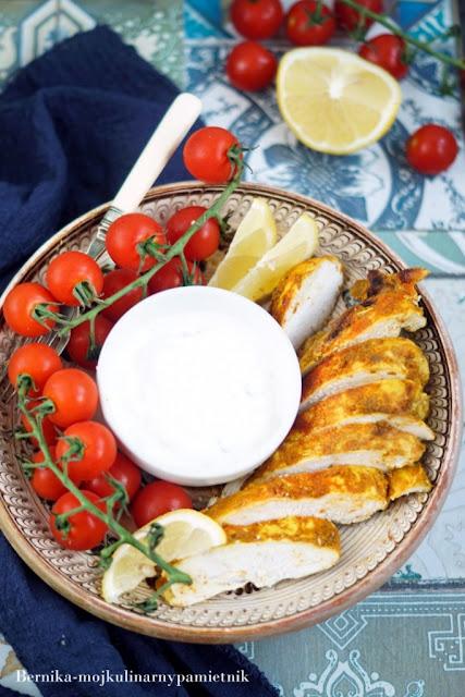 shawarma, shorma, shoarma, kurczak, piers z kurczaka, bernika, obiad, kulinarny pamietnik
