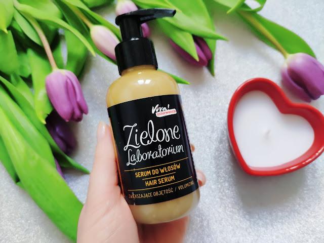 Zielone Laboratorium  - Serum do włosów oraz Balsam do ciała poprawiający koloryt skóry