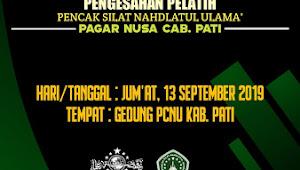 Pendaftaran Pengesahan Pelatih Pagar Nusa Sudah Dibuka