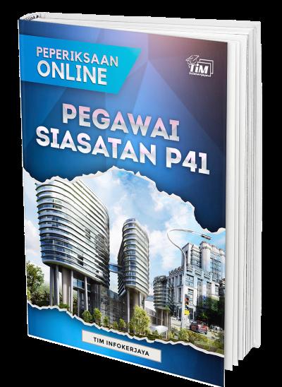 Contoh Soalan Peperiksaan Online Pegawai Siasatan Gred P41